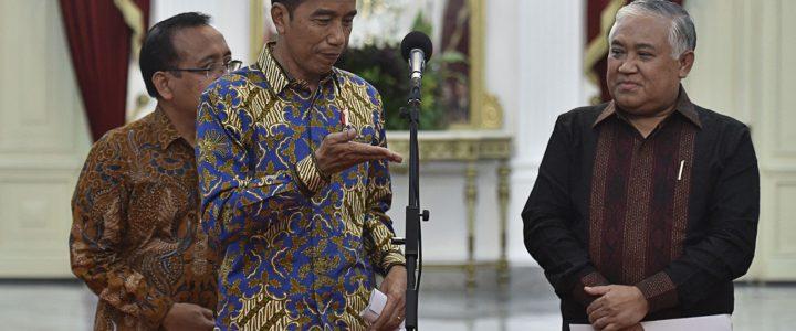 Jokowi Tunjuk Din Syamsuddin Sebagai Utusan Khusus Kerukunan Beragama