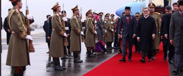 Jokowi Mendatangi Kabul Pasca Teror Bom