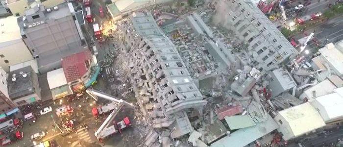 Gempa Di Taiwan Telah Memakan Korban