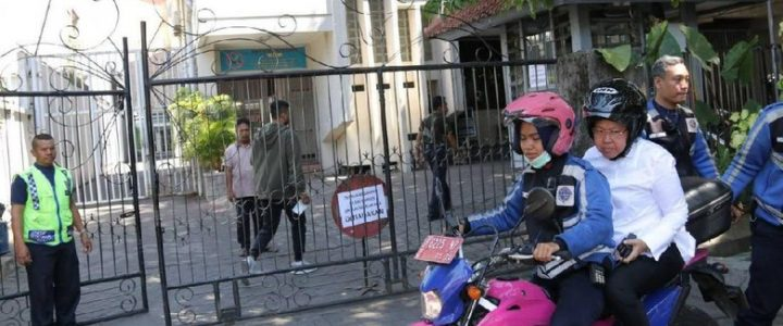 Jenazah Pengebom Gereja di Surabaya di Tolak Warga