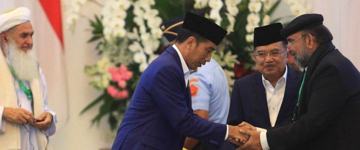 Presiden Jokowi Buka Pertemuan Ulama 3 Negara di Bogor