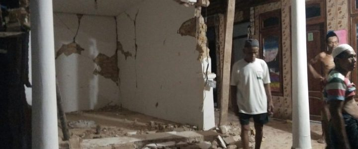 Gempa di Sumenep Rusak 77 Rumah