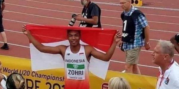 Atlet Lari Asal NTB Harumkan Nama Indonesia
